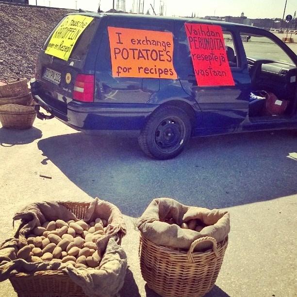 idea potatoes